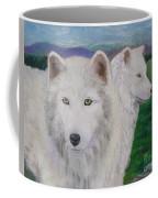 White Wolves Coffee Mug