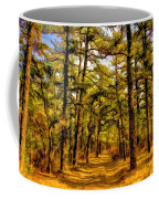 Whitebog Village Woods In New Jersey  Coffee Mug