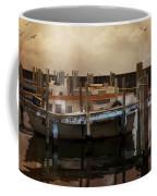 Whitefish Point Harbor Michigan Coffee Mug