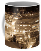Whitehorse Downtown At Night Coffee Mug