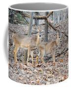 Whitetail Duo Coffee Mug
