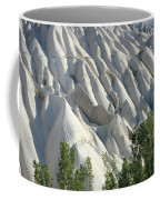 Whitewashed Rock From A Hot Air Balloon Coffee Mug