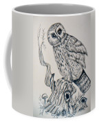 Whooo Are You Coffee Mug