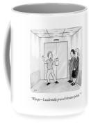 Whoops - I Accidentally Pressed 'elevator Pitch.' Coffee Mug