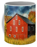Why Do They Paint Barns Red? Coffee Mug