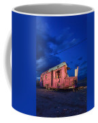 Why Pink Airstream Travel Trailer Coffee Mug