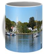 Wickford Village Waterfront Coffee Mug