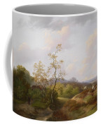 Wide Landscape With Shepherds Coffee Mug