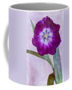 Wide Open Tulip Coffee Mug
