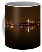 Wide Shot Of The City Skyline Coffee Mug