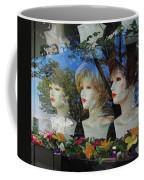 Wig Shop Window Coffee Mug