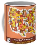 Wilbur Some All American Pig Coffee Mug by Barbara Snyder