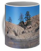 Willow Lake Number One Color Coffee Mug by Heather Kirk