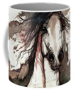 Wild Arabian Horse Coffee Mug
