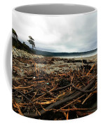 Wild Beach New Zealand Coffee Mug