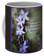 Wild Blue Flowers And Innocence 2 Coffee Mug