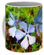 Wild Blue Phlox Near Hastings-michigan   Coffee Mug