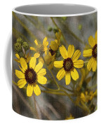 Wild Brittle Bush Flowers Coffee Mug