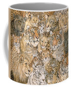 Wild Cat Spread Coffee Mug