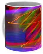 Wild Electric Sky In The Cosmos Coffee Mug