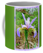Wild Flag - Iris Versicolor Coffee Mug