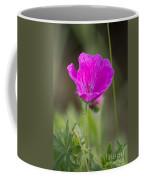 Wild Flower Bloody Geranium Coffee Mug