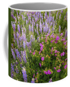 Wild Flowers Display Coffee Mug