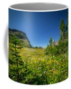 Wild Flowers Glacier National Paintedpark   Coffee Mug