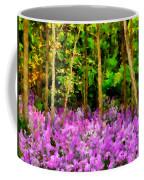 Wild Forest Violets Coffee Mug