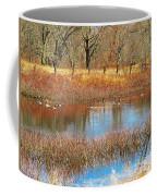 Wild Geese On The Farm Coffee Mug
