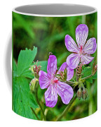 Wild Geranium On Trail To Swan Lake In Grand Teton National Park-wyoming Coffee Mug