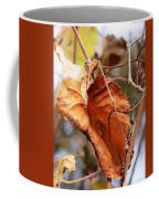 Wild Grapevine Leaf Coffee Mug