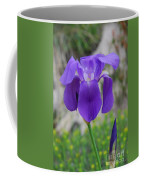 Wild Growing Iris Croatia Coffee Mug