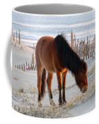 Wild Horse At Sunrise Coffee Mug