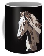 Wild Horse With Hidden Pictures Coffee Mug