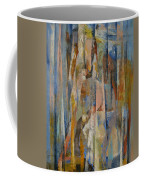 Wild Horses Abstract Coffee Mug