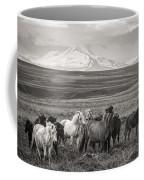Wild Icelandic Horses Coffee Mug