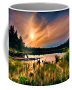 Wild Maine Woods In Baxter State Park Coffee Mug
