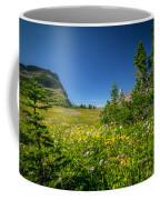 Wild Mountain Flowers Glacier National Park   Coffee Mug