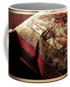 Wild Mustangs On A Quilt Coffee Mug by Barbara Griffin