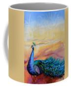 Wild Peacock Coffee Mug