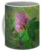 Wild Red Clover Blossom Coffee Mug