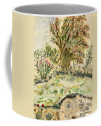 Wild Rhododendrons Near The River Coffee Mug