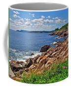 Wild Roses At Lakies Head In Cape Breton Highlands Np-ns Coffee Mug