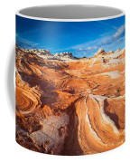 Wild Sandstone Landscape Coffee Mug by Inge Johnsson