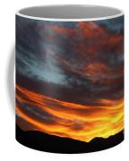 Wild Sunrise Over The Mountains Coffee Mug