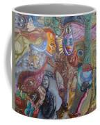 I See Faces Coffee Mug