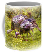 Wild Turkey Hens Coffee Mug by Barry Jones