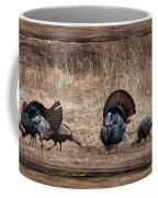 Wild Turkeys Coffee Mug by Lori Deiter