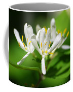White Honeysuckle Flowers Coffee Mug